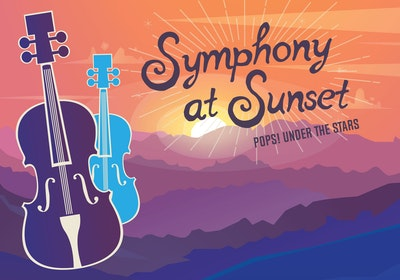 Symphony at Sunset Image