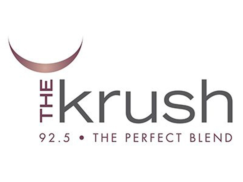 The Krush 92.5 logo